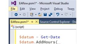 PowerShell a Visual Studio
